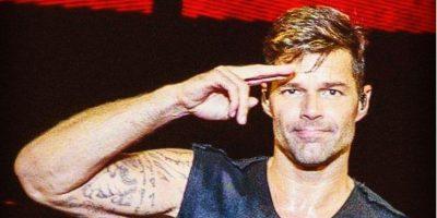 Ricky Martin comparte foto íntima en Instagram