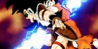 """Gokú muere por primera vez en """"Dragon Ball Z"""" al ser atravesado por un rayo de Piccoro. Foto:vía Toei"""