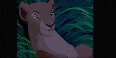 """Nala y Simba también hacen lo suyo en """"El Rey León"""". Foto:vía Twitter"""