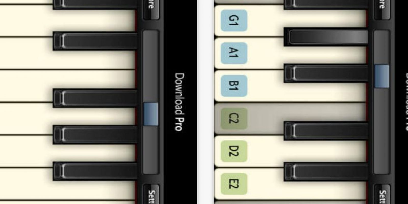 4.- Virtuoso Piano Free 2 Foto:App Store