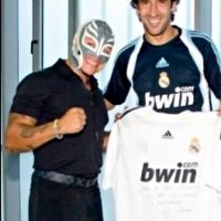 REAL MADRID: 1. Rey Misterio (Luchador) Foto: WWE