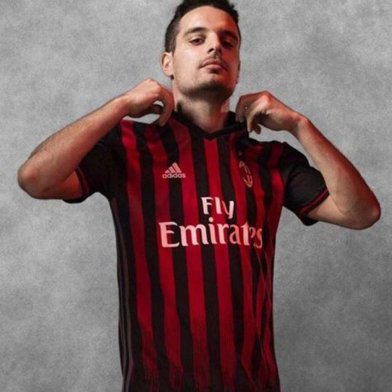 Y Milán buscará recuperar su grandeza con esta camiseta. Foto:Vía instagram.com/adidasfootball