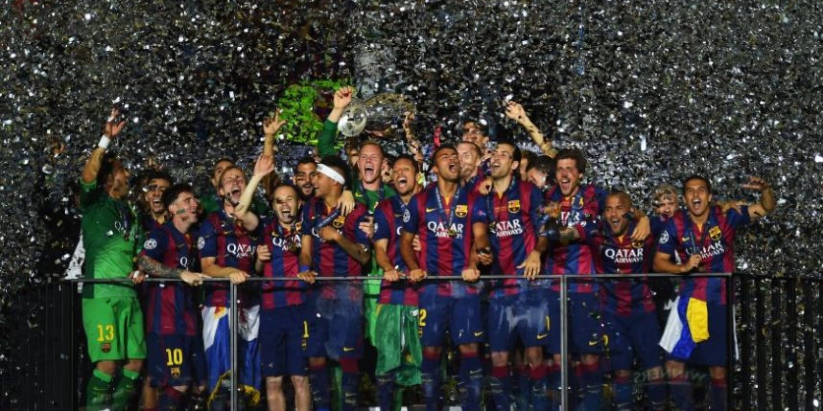 Barcelona (España)-5 títulos: 1992, 2006, 2009, 2011, 2015 Foto:Getty Images