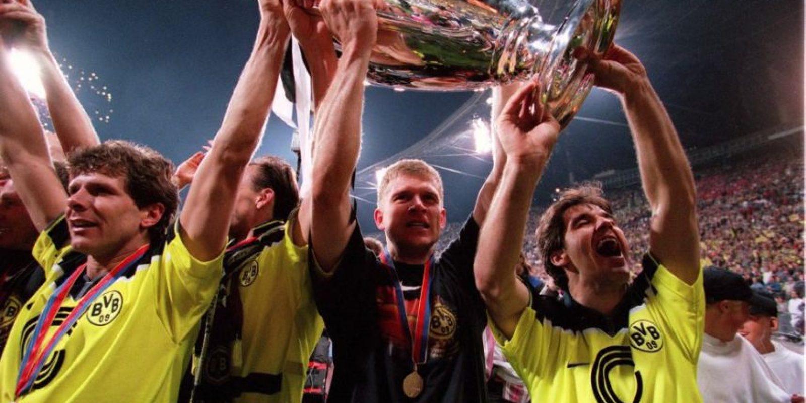 Borussia Dortmund (Alemania)-1 título: 1997 Foto:Getty Images