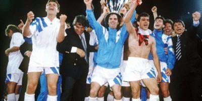 Olympique de Marsella (Francia)-1 título: 1993 Foto:Getty Images