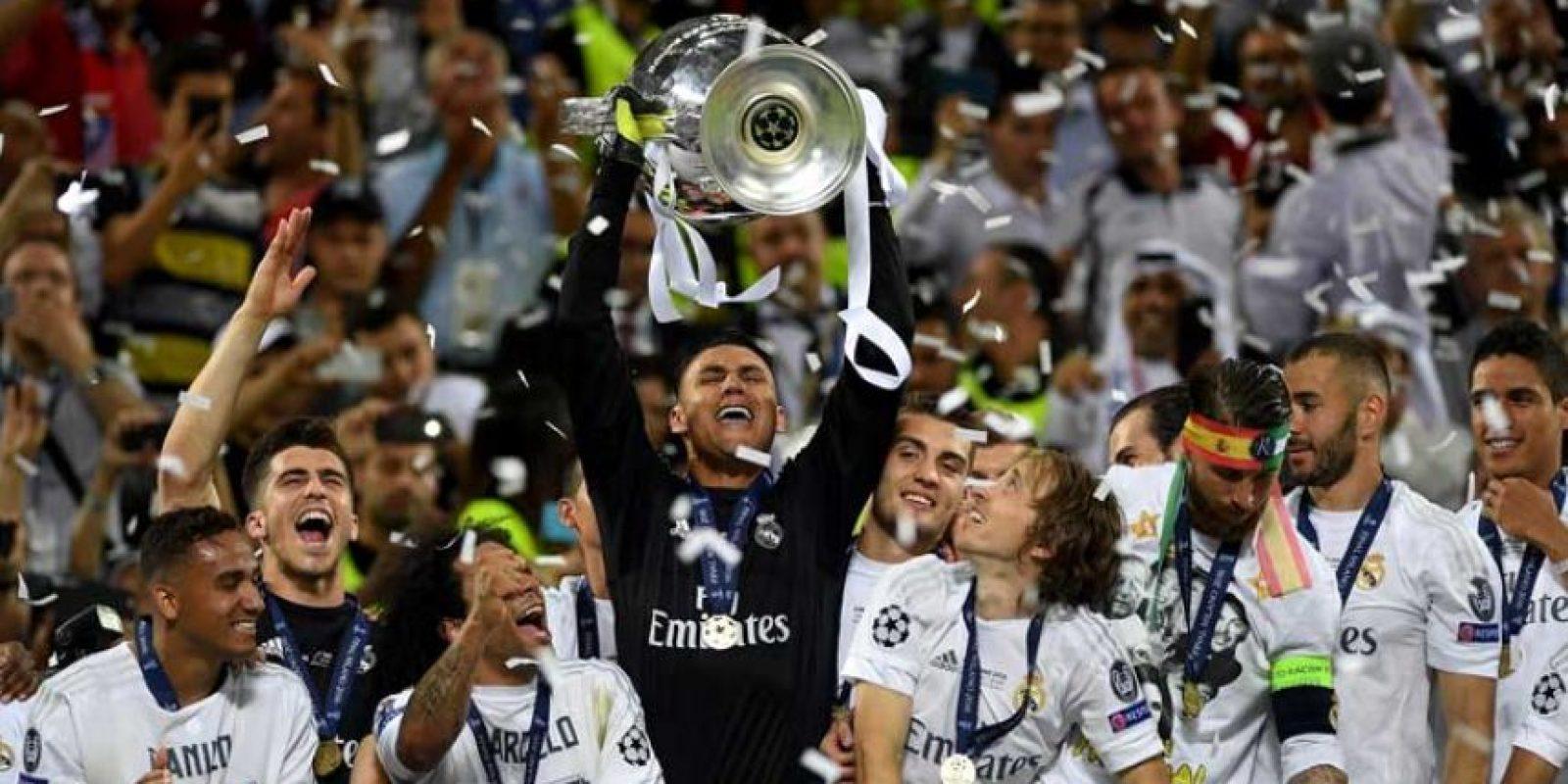 Real Madrid ganó la Champions League tras derrotar al Atlético en penales. Foto:Getty Images