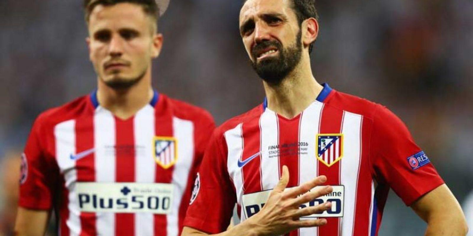 Juanfran falló un penal en la tanda de lanzamientos. Foto:Getty Images