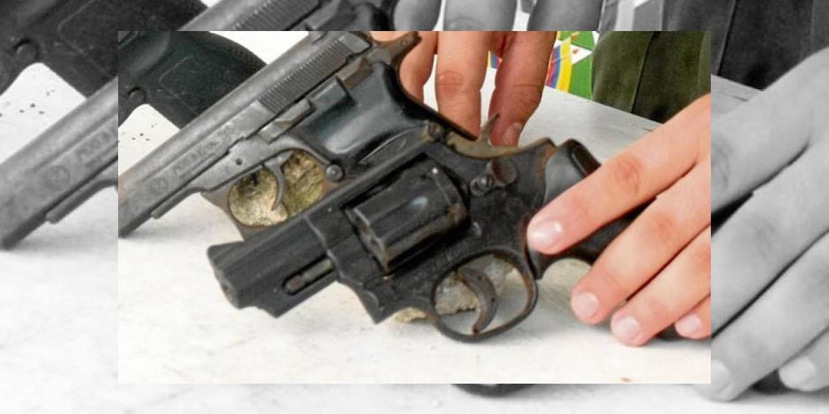Policía ocupa ocho armas de fuego portadas ilegalmente