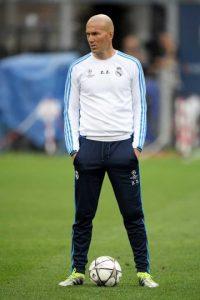 Zinedine Zidane es el DT del Real Madrid. Foto:Getty Images