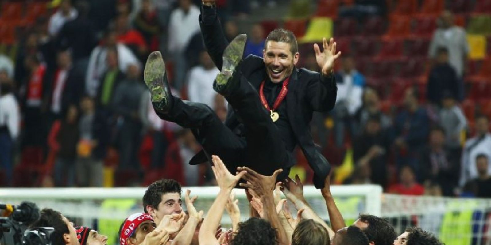 Desde 2011 lleva dirigidos 174 partidos de Liga con el Atlético. Foto:Getty Images