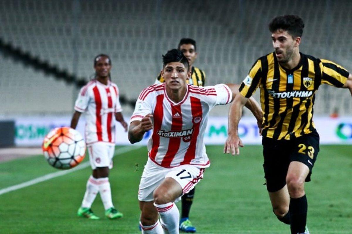 Alan Pulido es un futbolista mexicano de 25 años. Foto:Getty Images