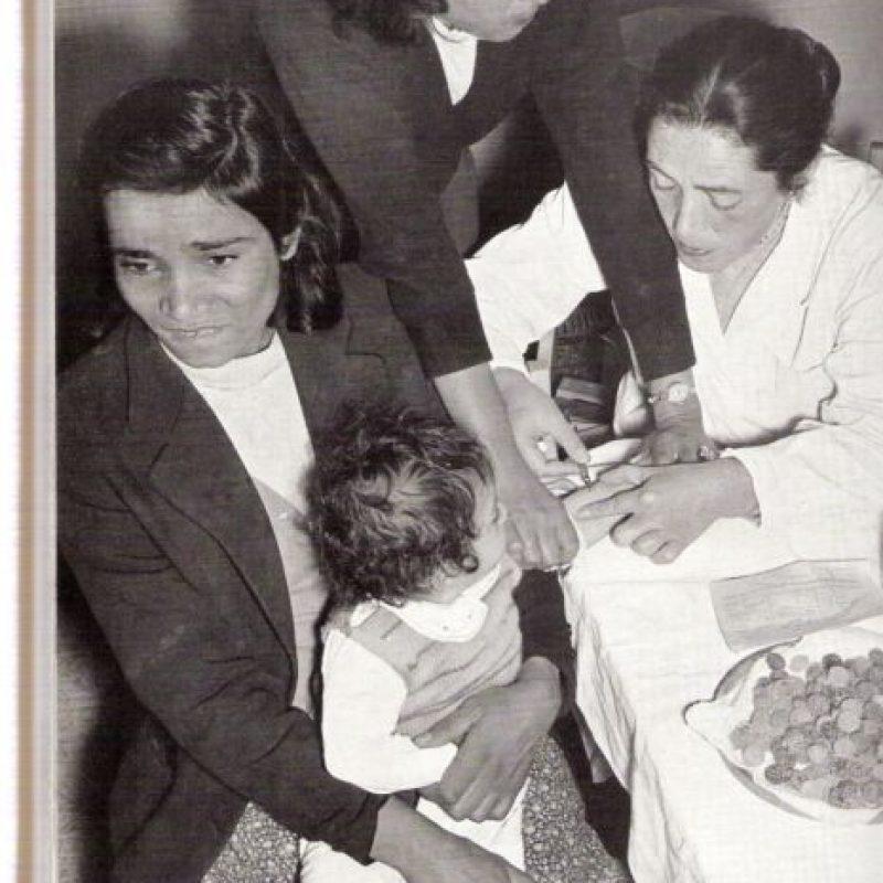 """6.Polio. Presidentes como Franklin D. Roosevelt la padecieron. Pero se reportan casos recientes en Afganistan, Nigeria India y Pakistan. En Nigeria, en 2003, no se querían vacunar creyendo que les traería """"infertilidad"""" Foto:vía Wikipedia"""