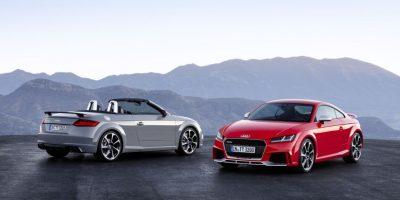 Audi TT RS 2017 Foto:Fuente Externa