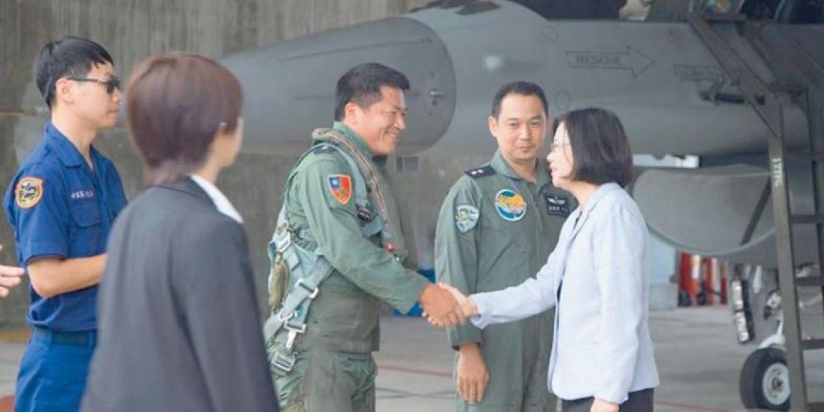 """Presidenta Taiwán pide """"proteger la democracia"""""""
