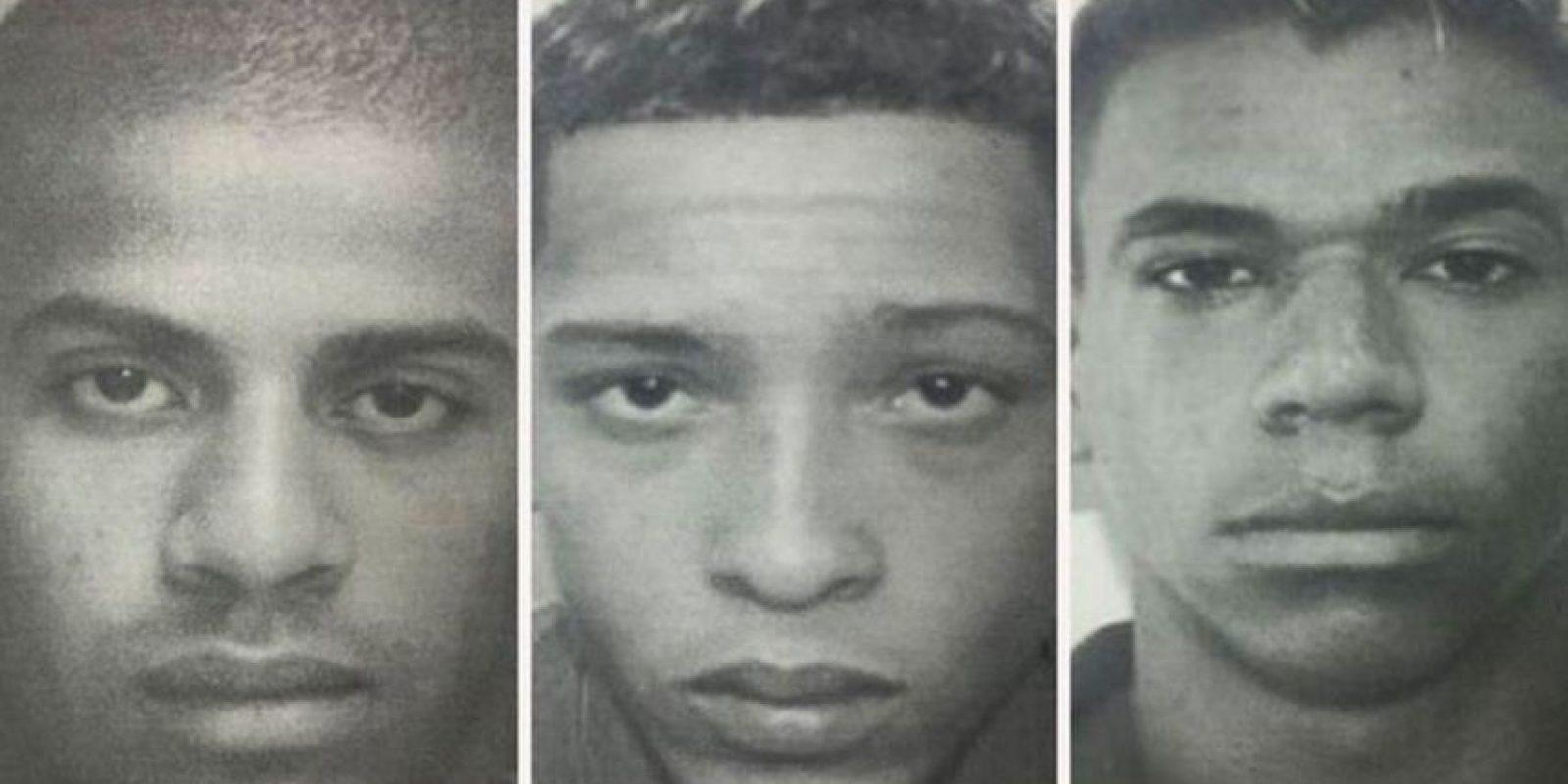 Estos son seis de los más de 30 violadores de una chica de Brasil Foto:Policía de Brasil