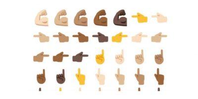 Android tendrá emoticones con diferentes colores de piel. Foto:Emojipedia