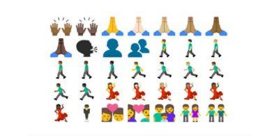 Muchos parecidos a los actuales en iOS. Foto:Emojipedia