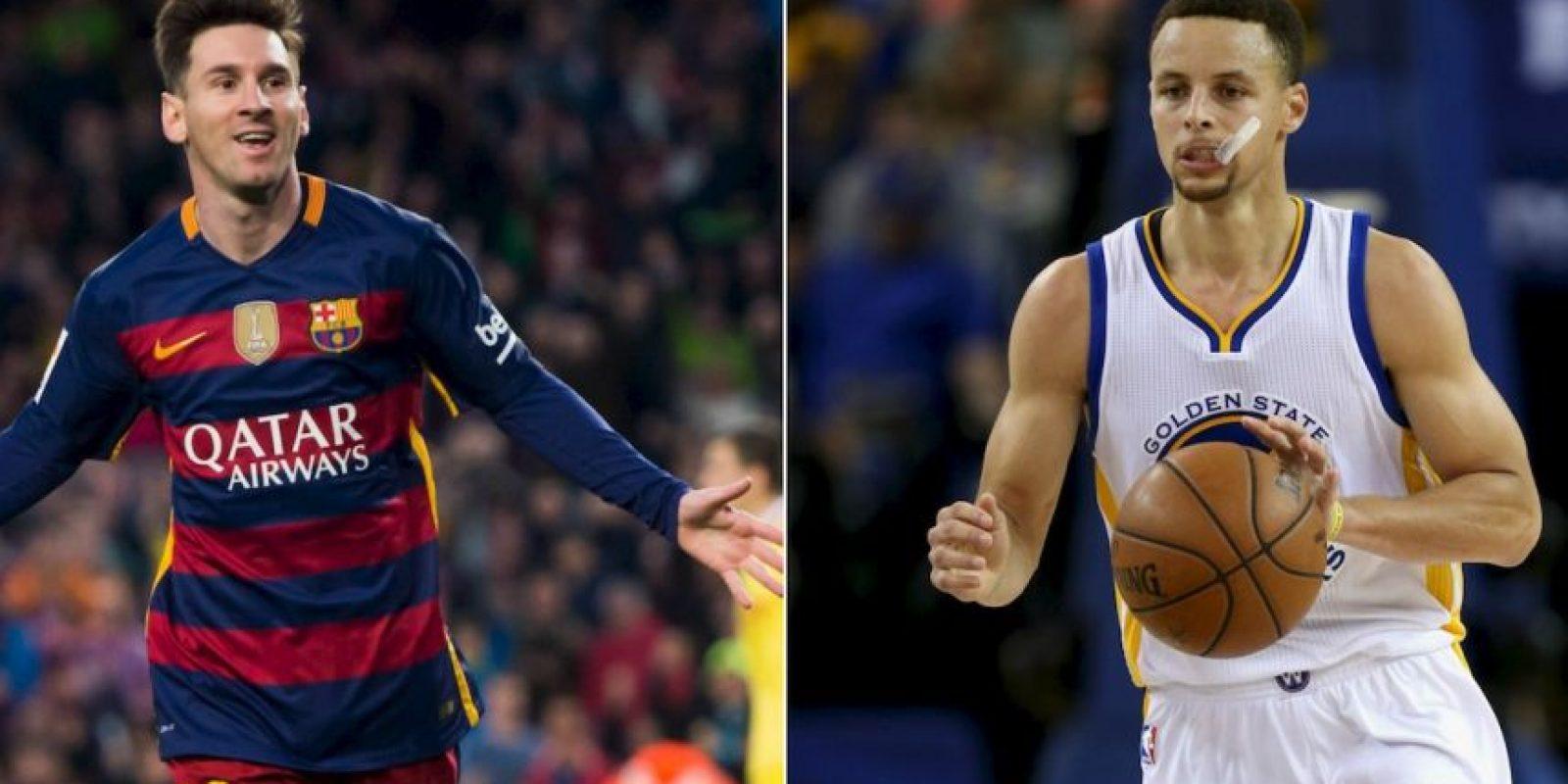 A Stephen Curry le gusta ser el Lionel Messi de la NBA Foto:Getty Images