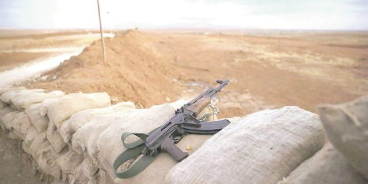 Tropas iraquíes combaten al Isis en Faluya