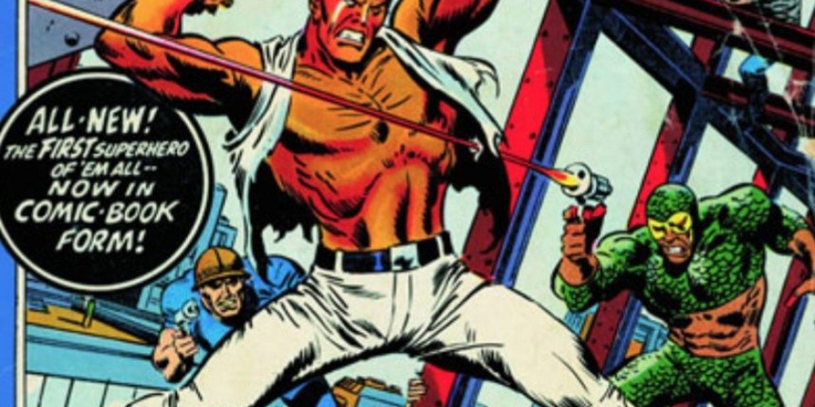 Dr Savage es un hombre entrenado desde que nace para luchar contra el mal. Foto:Imgur