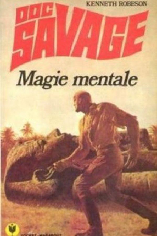 El verdadero nombre de Doc Savage, fue Clark Savage Jr Foto:Vía Tumblr