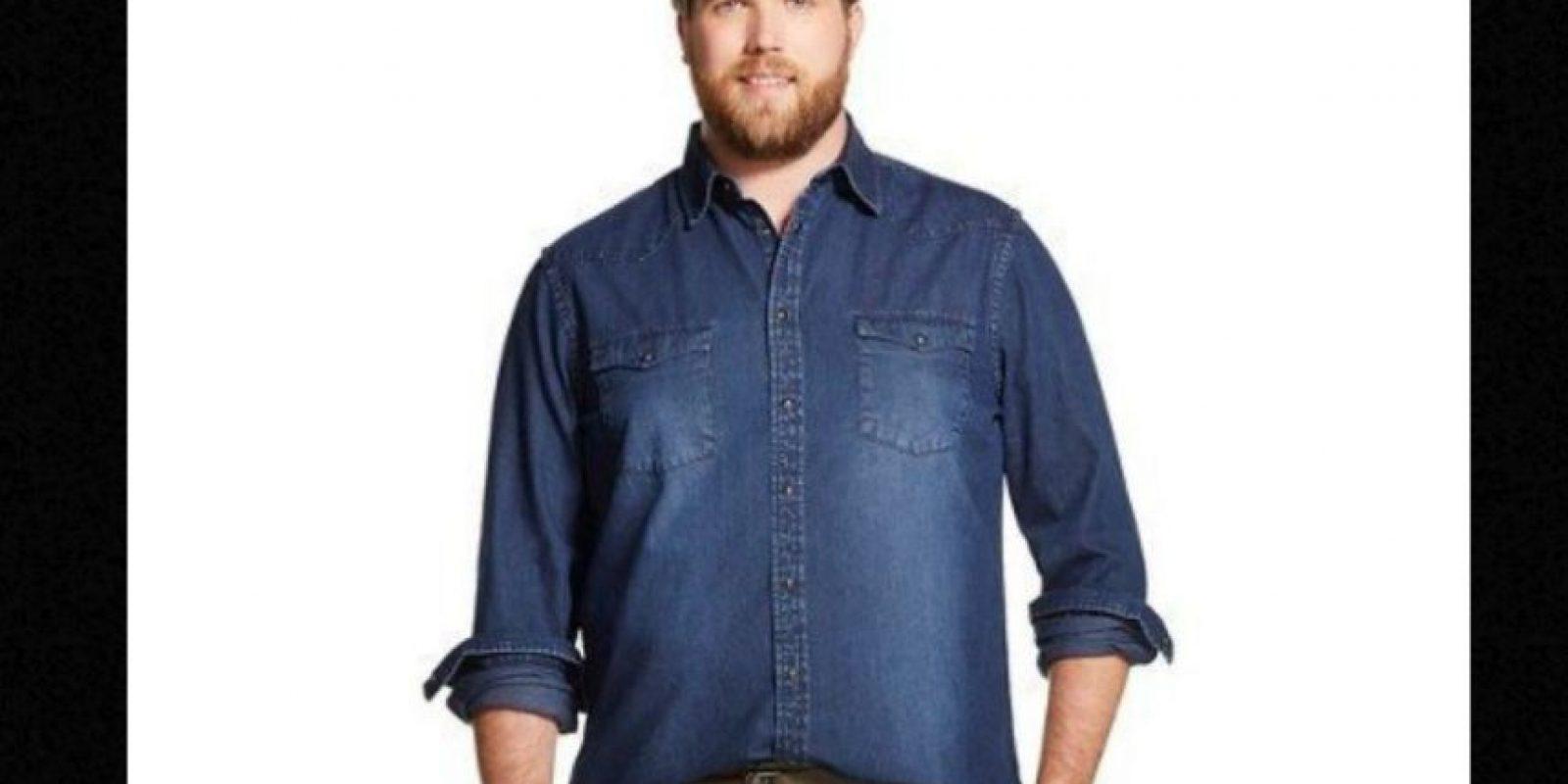 Es también actor y no suele encontrar ropa genial de su talla. Foto:vía Target