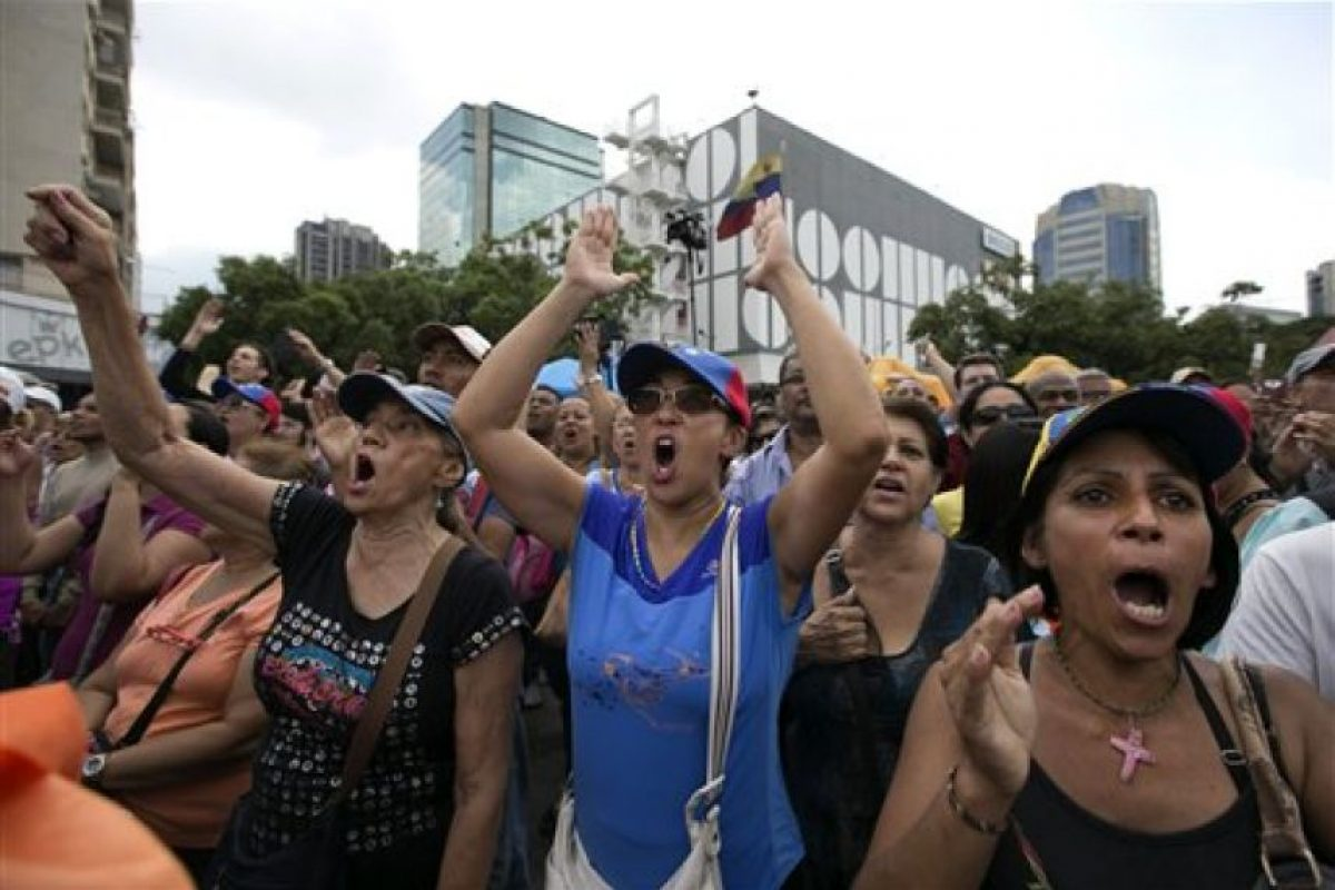 Algunos grupos sociales y la oposición esperan poder revocarlo del poder. Foto:AP