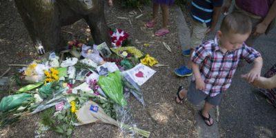 Ya que se salvó la vida del menor Foto:AP