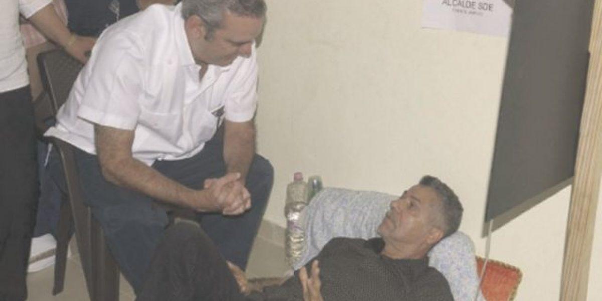 Luis Abinader se solidariza con los candidatos en huelga