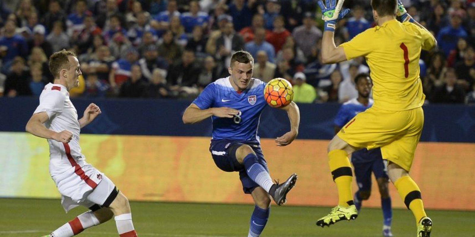 Jordan Morris se ha convertido en una de las principales joyas del fútbol norteamericano Foto:Getty Imges