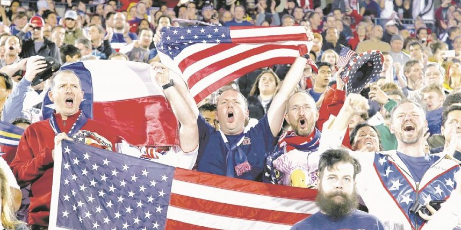 El público estadounidense lo toma como un espectáculo. Foto:Fuente externa