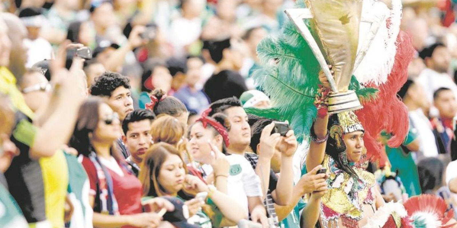 Los mexicanos serán locales en sus partidos. Foto:Fuente externa