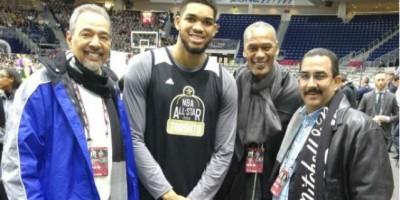 Juan José Rodríguez y Frank Prats son las caras de la NBA