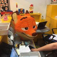 """La imagen muestra a """"Nick Wilde"""", protagonista de la película Zootopia Foto:Weibo.com/Trush"""