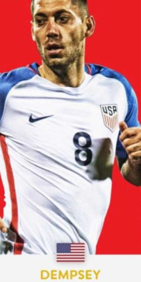 Clint Dempsey (Estados Unidos/Seattle Sounders) Foto: ca2016.com
