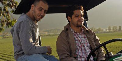 Danilo Reynoso, al timón, con David Maler. Foto:Fuente externa