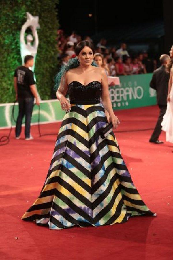 Doreen Gutiérrez tuvo la mejor intención, pero hizo una mala elección en la casa de modas Laura Freitas. Foto:Fuente externa