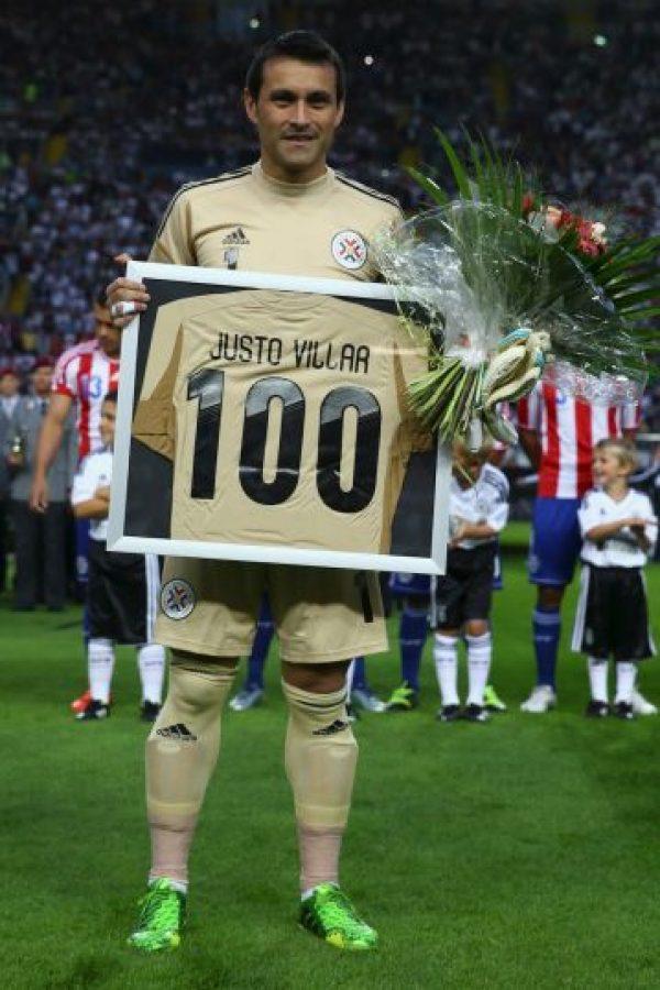 El portero paraguayo disputará la Copa América Centenario con 38 años Foto:Getty Images
