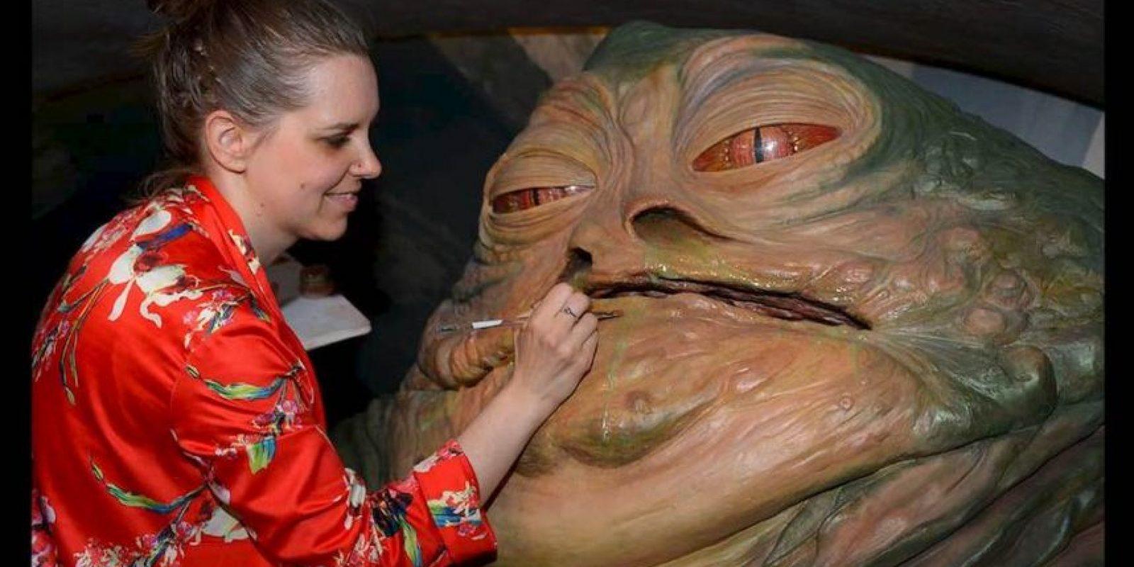 "Su apariencia asemeja a la del malvado ""Jabba the Hutt"", personaje malvado de ""Star Wars"" Foto:GETTY IMAGES"