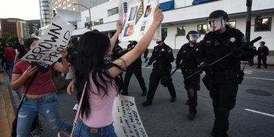 De acuerdo al Departamento de Policía, hubo algunos arrestos, sin detallar cuántos, informó CNN Foto:AFP