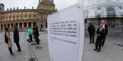 El Museo de Orsay se mantiene cerrado por la misma razón. Foto:AFP