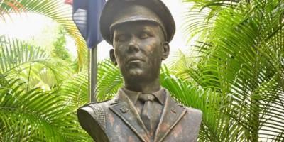 Efemérides Patrias rinde homenaje al Teniente Amado García