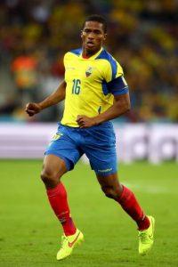 A sus 30 años, es el líder de la selección ecuatoriana. Jugador del Manchester United desde 2009, Valencia es un potente y habilidoso jugador cuya versatilidad le permite adaptarse a todos los puestos de la banda derecha, desde el lateral hasta el extremo. Foto:Getty Images