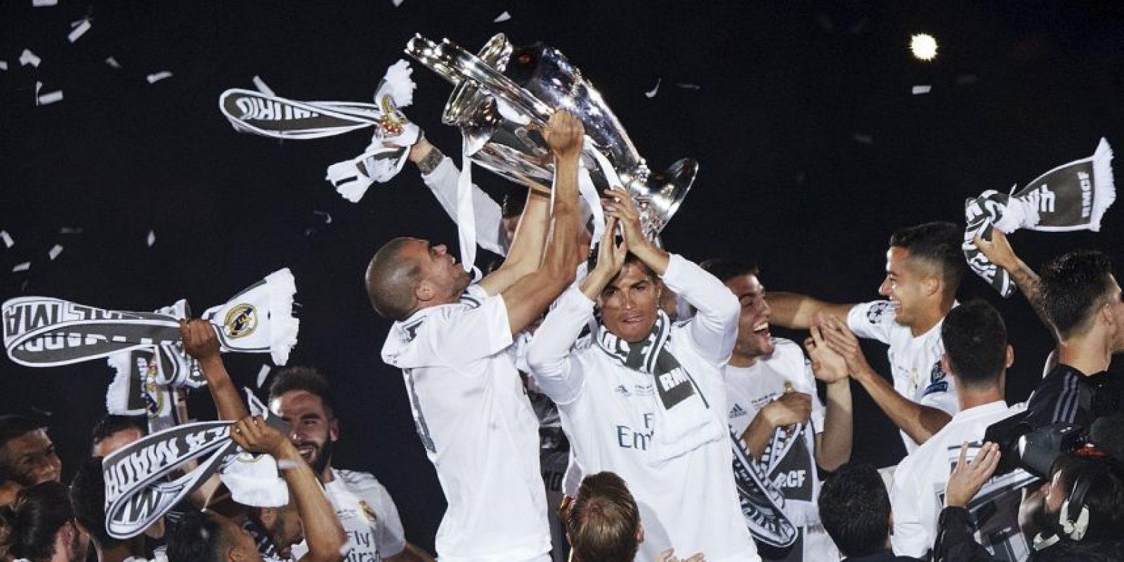 Es la tercera Champions que consigue el lusitano Foto:Getty Images
