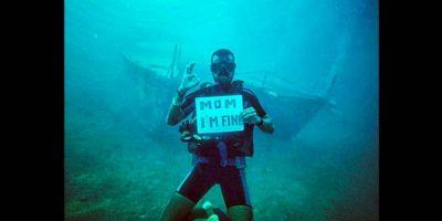 """""""Mamá estoy bien"""", el mensaje de un joven que viaja por el mundo"""