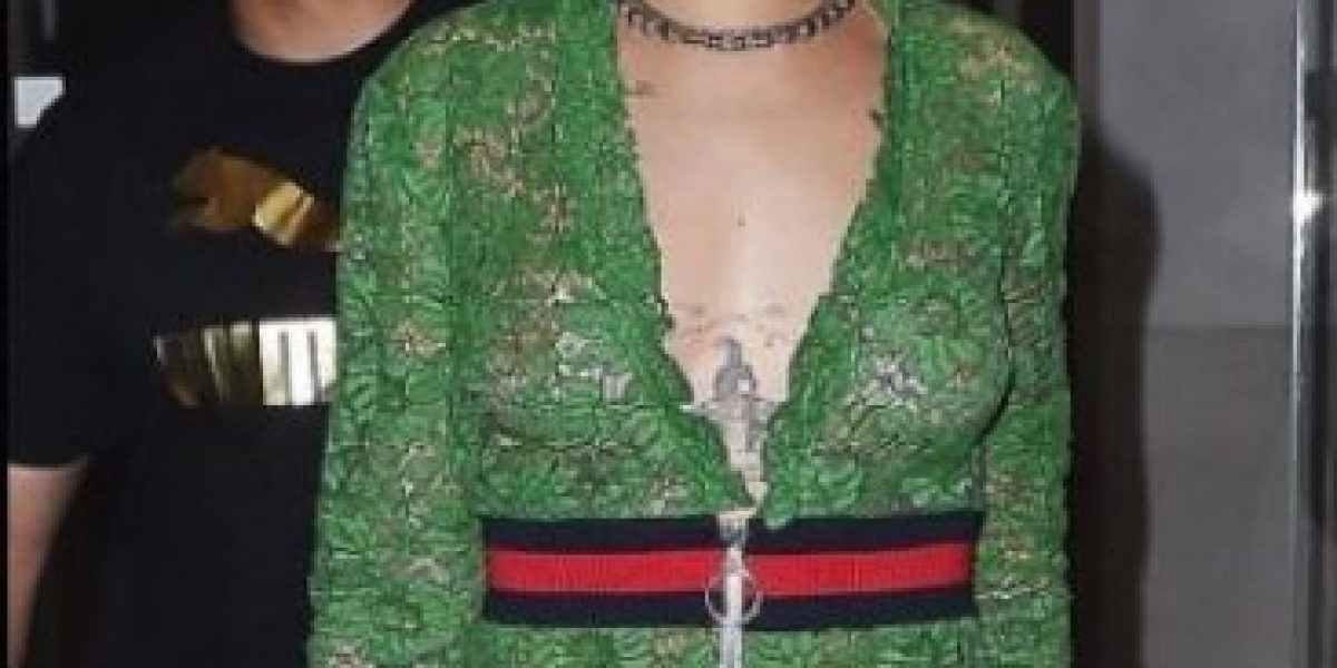 Laura Bozzo le copió el look a Rihanna