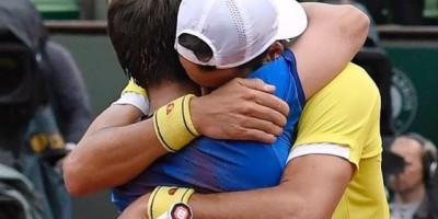 Feliciano y Marc López ganan la final de dobles de Roland Garros