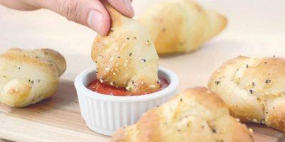 ¿Amante al sabor del ajo? Los Garlic Knots serán perfectos para ti
