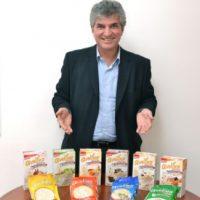 Giovanni Malvestuto, gerente general de Inproceca, en conversación con MetroRD Foto:Mario de Peña