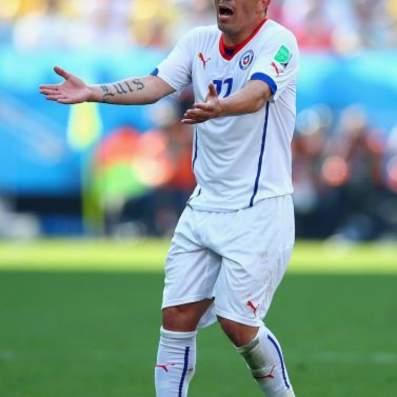 Gary Medel (Chile) – 1.33 millones Foto:Getty Images